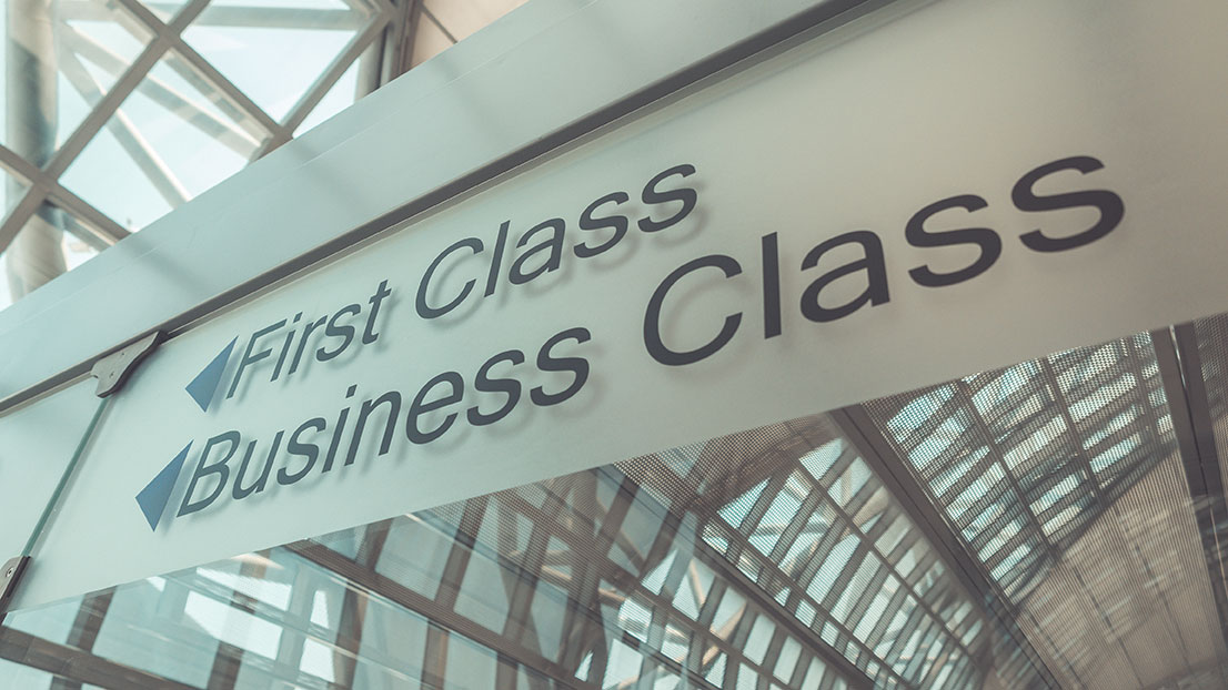 Business and First Class Airline tickets